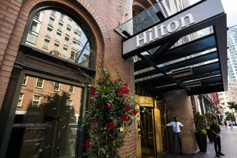 Hilton.Bloomberg