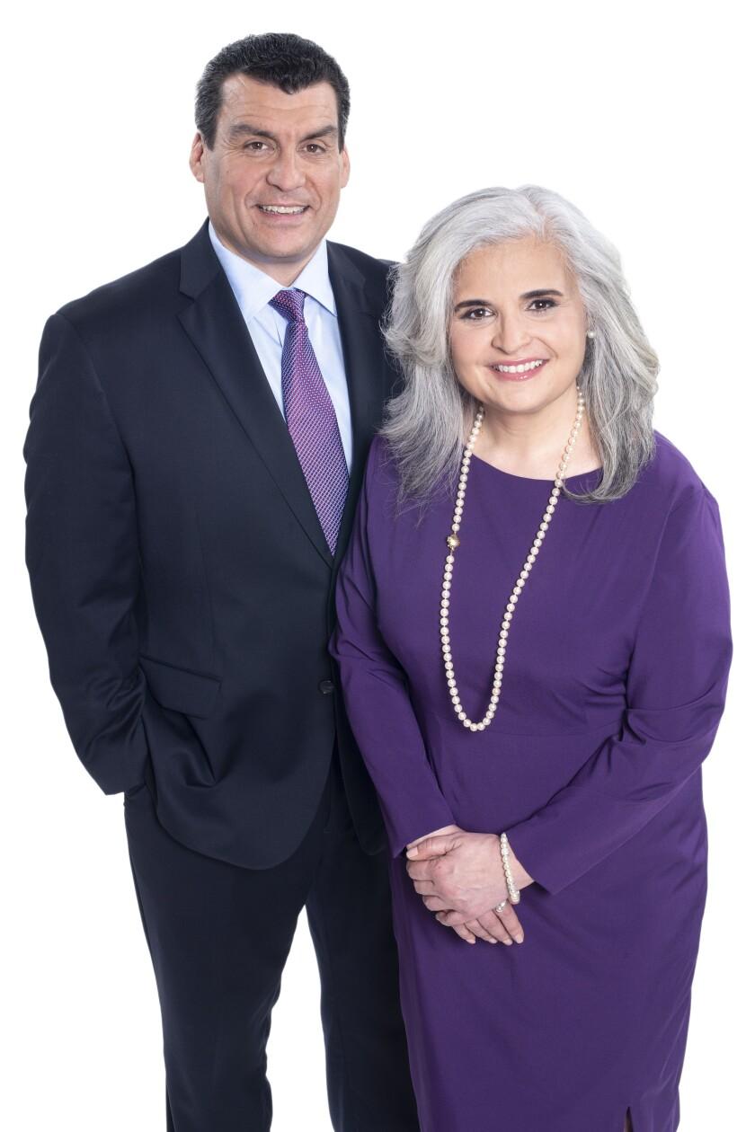 Conseillers financiers Frank Granizo et Jennifer Kirby de Talisman Wealth Advisors