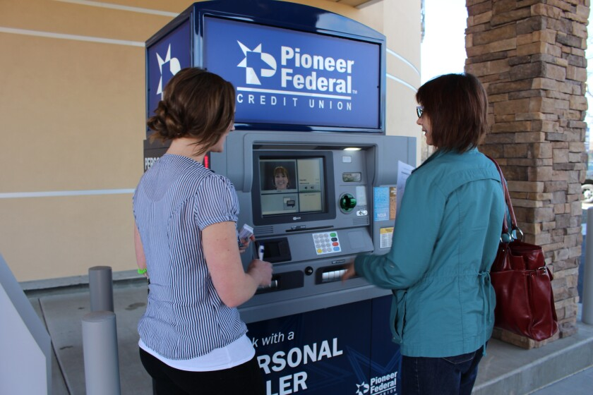 Video-equipped ATMs at Pioneer Federal Credit Union
