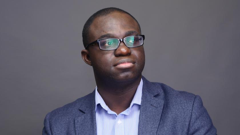 Timeline founder Abraham Okusanya