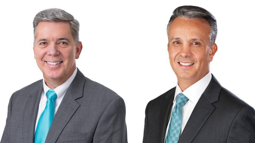 Harold Dixon and Andy Ramos