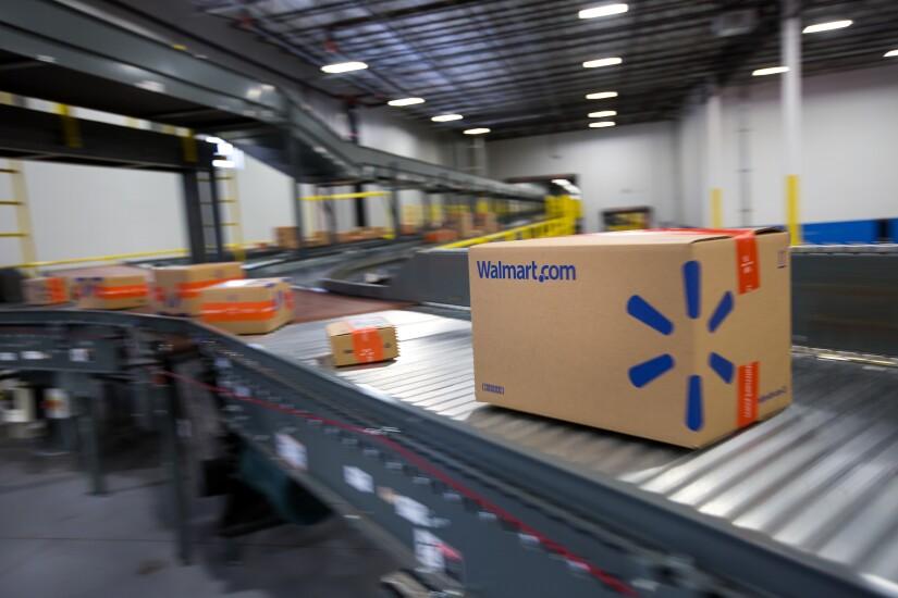 Walmart.com shipping box