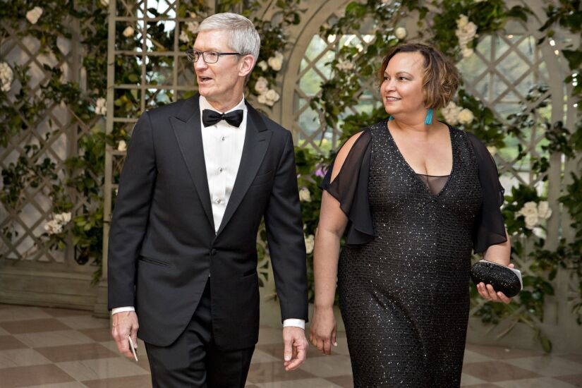 Tim Cook and Lisa Jackson