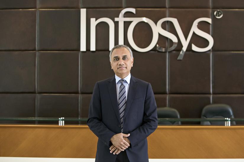 Infosys CEO Salil Parekh