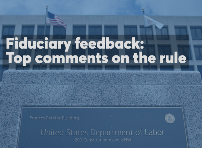 Fiduciary rule delay comments cover image 03.16.2017