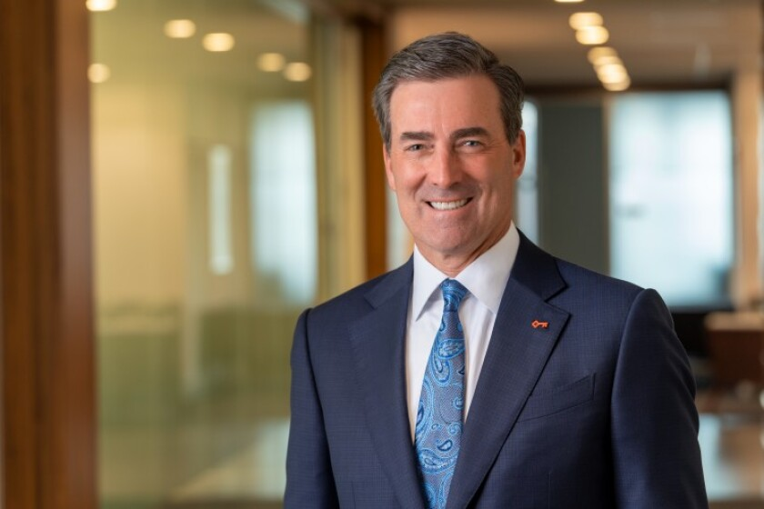"""""""An indirect business ... can't be a relationship product,"""" says KeyCorp Chairman and CEO Chris Gorman."""