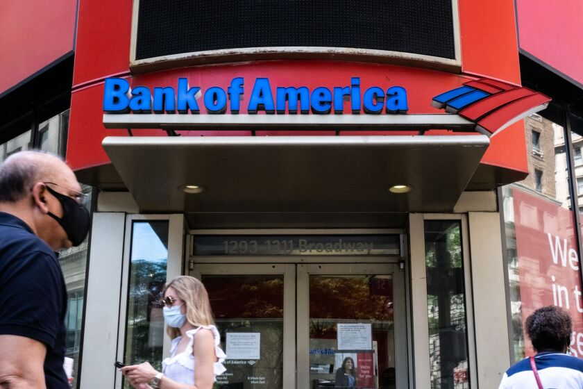 Bank of America said last month that it plans to roll out a short-term, payday loan beginning in January that allows checking account customers to borrow up to $500 for a flat fee of $5.