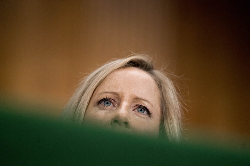 Kathy Kraninger, nominee to lead CFPB, currently No.2 at OMB