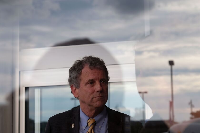 """""""I will support anything that I think can help people and help businesses stay in business,"""" said Sen. Sherrod Brown, D-Ohio, the top Democrat on the Senate Banking Committee."""