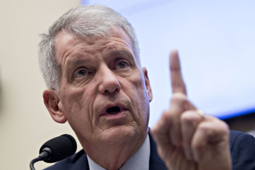 Tim Sloan resigned as Wells Fargo's CEO two weeks after telling members of Congress that the bank was in compliance with a 2018 regulatory order. A report released this week called his statements misleading and inaccurate.