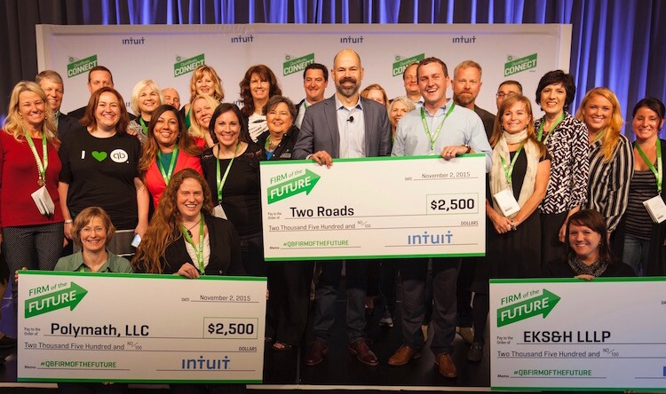 Intuit firm of the future winner 2015 Two Roads
