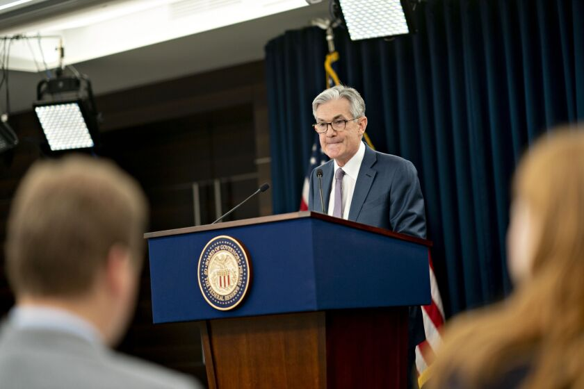 Fed Chairman Jerome Powell has suggested that the central bank could issue more forward guidance and direct more asset purchases. But Powell has also urged the White House and Congress to take actions on their own.
