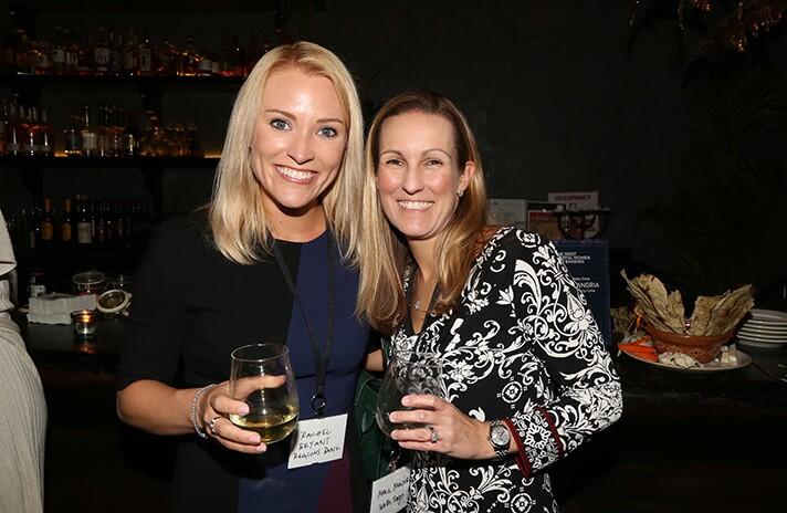 Rachel Bryant of Regions Bank and April Frazer of Wells Fargo.