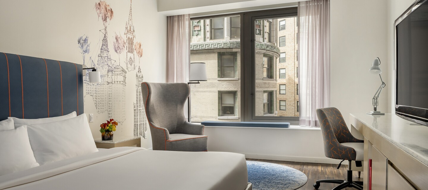 Andaz Wall Street Hotel - 2000x708