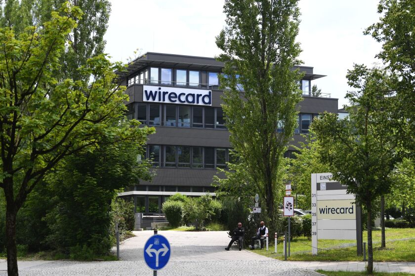 Wirecard AG headquarters in Munich, Germany.