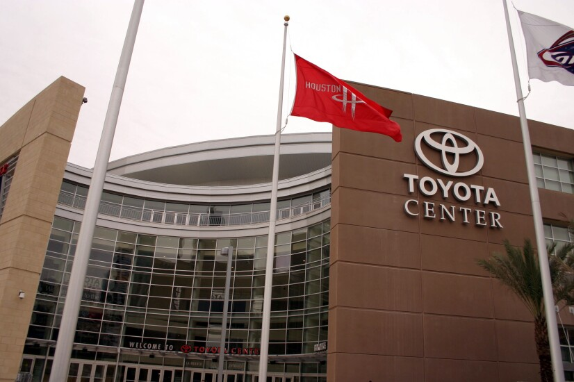 Toyota Center in Houston