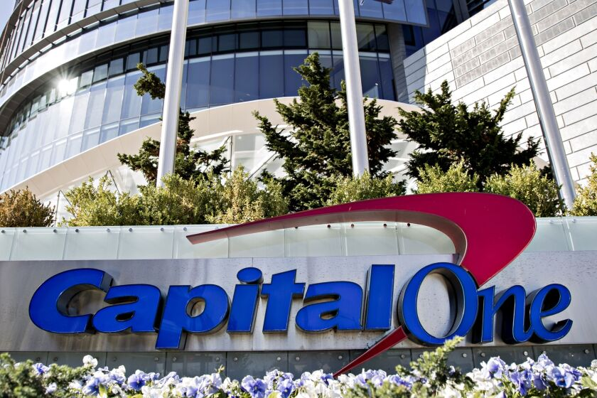 The card companies Capital One Financial and American Express said this week they've jump-started marketing efforts in recent weeks to bolster their brands and acquire new customers.