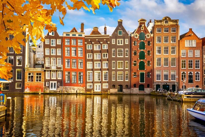 Netherlands - Amsterdam - houses
