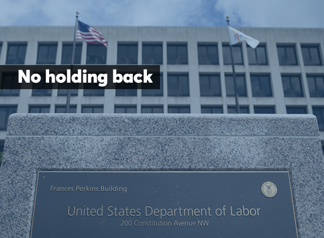 No holding back fiduciary comments listicle March 27