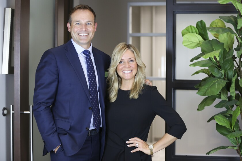 Financial advisors Katherine Forrester Schneewind and her brother Michael Forrester