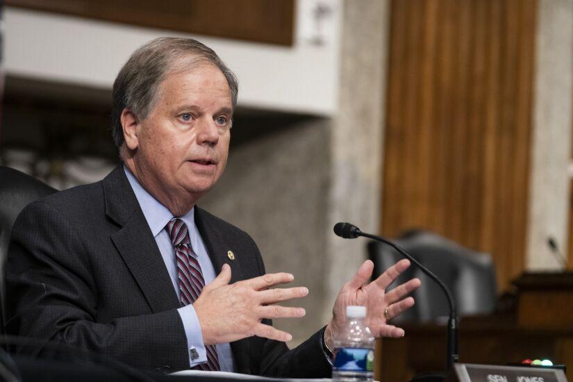 Senator Doug Jones, a Democrat from Alabama