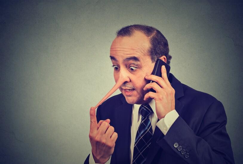Phone fraudster