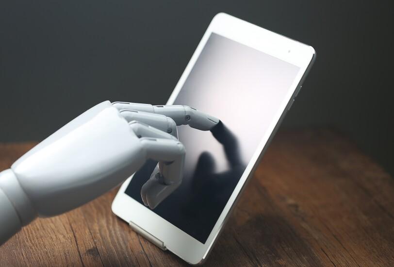 AI on a mobile device