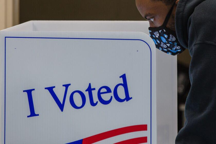 South Carolina Residents Cast Ballots 2020 U.S. Presidential Election