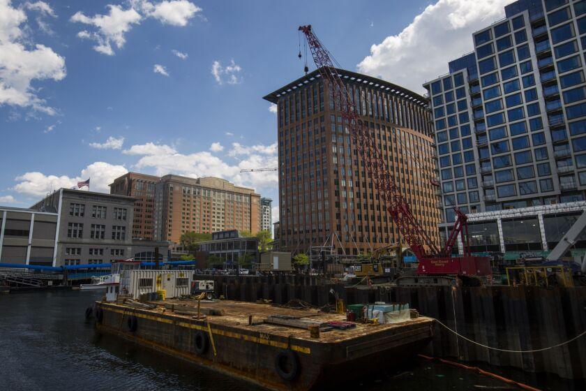 Seaport Place, a linchpin of the area's overhaul, was the work of the Johnsons.