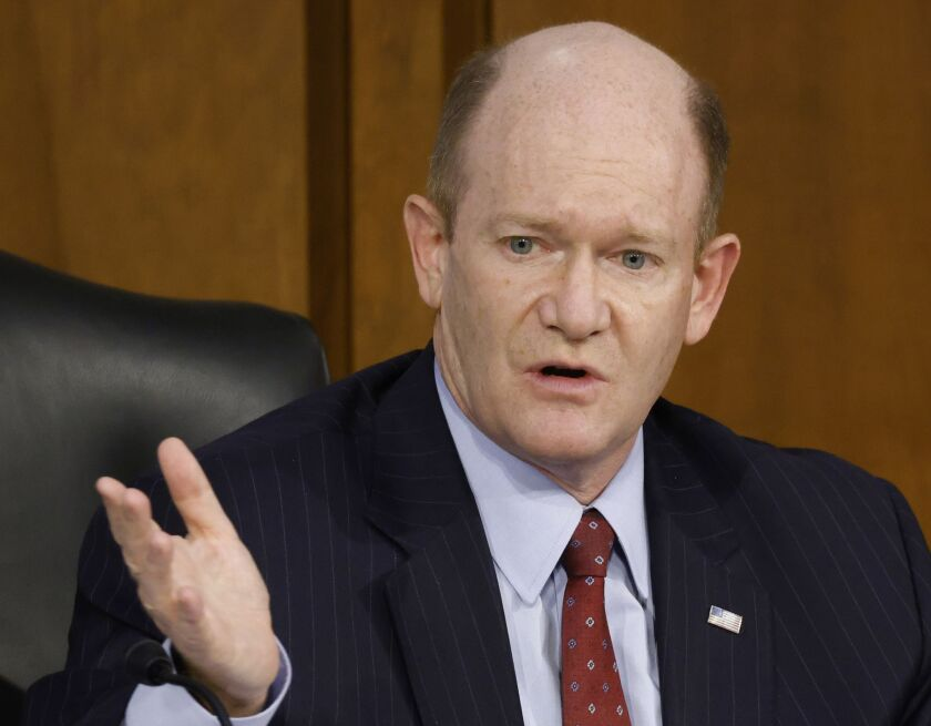 """The OCC's final rule is wrong in substance and in process,"" said Sen. Chris Coons, D-Del. ""In substance, it is unlikely to encourage investment in under resourced and overlooked regions."""