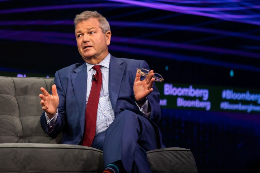 One of Invesco CEO Martin Flanagan's biggest bets was the $5.7 billion takeover of Oppenheimer Funds — a wager on the future of active management despite investors' continued to move to passive.