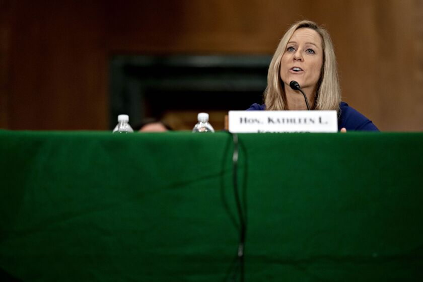 """""""Through the partnership being announced today, the Bureau will share our insights with FHFA and ensure we get their data on how mortgage servicers are working with their customers during this critical time and going forward,"""" said CFPB Director Kathy Kraninger."""