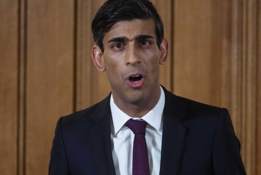 Rishi Sunak, the chancellor of the exchequer, has won praise for working with the British Business Bank to get the rescue program up and running in just two weeks.
