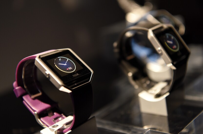 Fitbit Blaze smartwatches