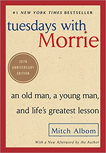 Summer 2018 - Book List - Tuesdays with Morrie