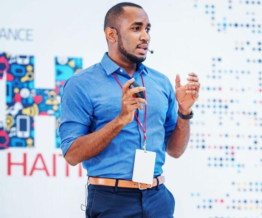 Hantz Fevry, founder and CEO, Stoovo