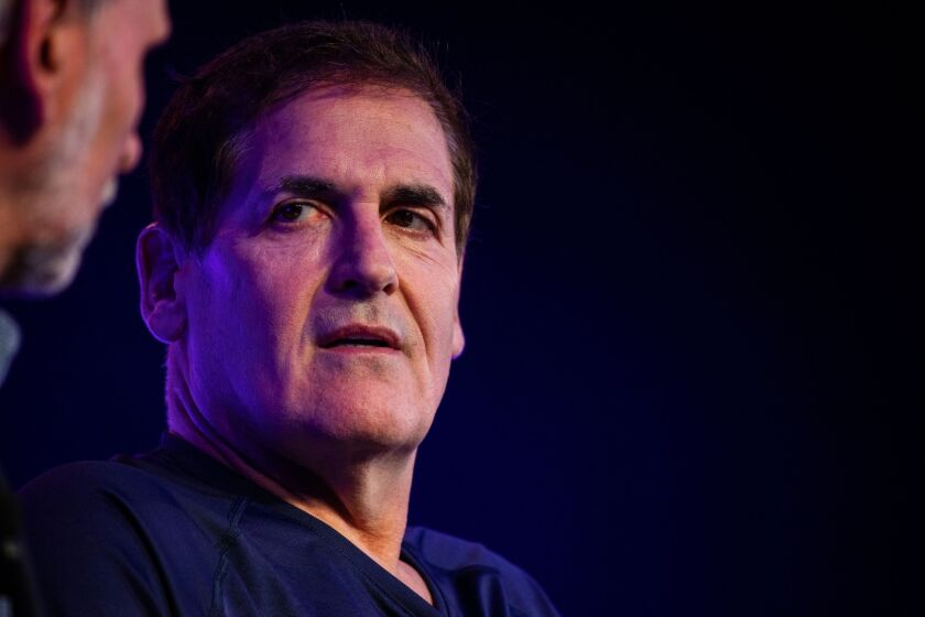 """""""The way [Congress] went with PPP—it turned into a traditional banking application with all the concerns that banks are going to have about dealing with credit,"""" the investor and entrepreneur Mark Cuban said on a recent podcast."""