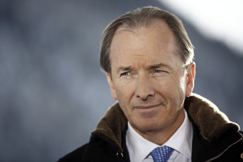 """I am not shy about doing deals that hit our sweet spot,"" says Morgan Stanley CEO James Gorman."