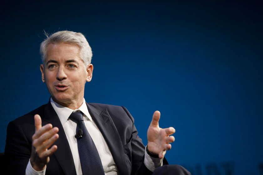 """""""After a careful review of the portfolio, we concluded that a hedging strategy was more consistent with our long-term ownership philosophy, and would likely lead to a better long-term outcome than selling off all of our assets,"""" Bill Ackman wrote in a letter to investors."""
