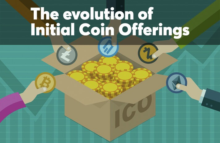 The evolution of Initial Coin Offerings