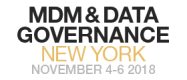 MDM & Data Governance New York November 4-6, 2018