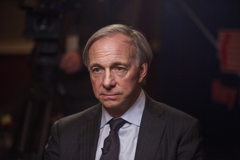 The Pure Alpha fund at Ray Dalio's firm has tumbled about 6% through Aug. 23. The losses were fueled by bearish wagers on global interest rates, according to a person familiar with the matter.