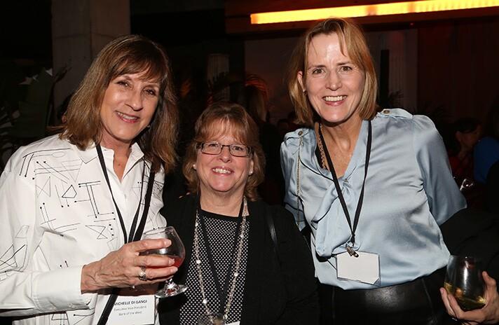 Michelle di Gangi, Debbie Hale and Rita Dailey.