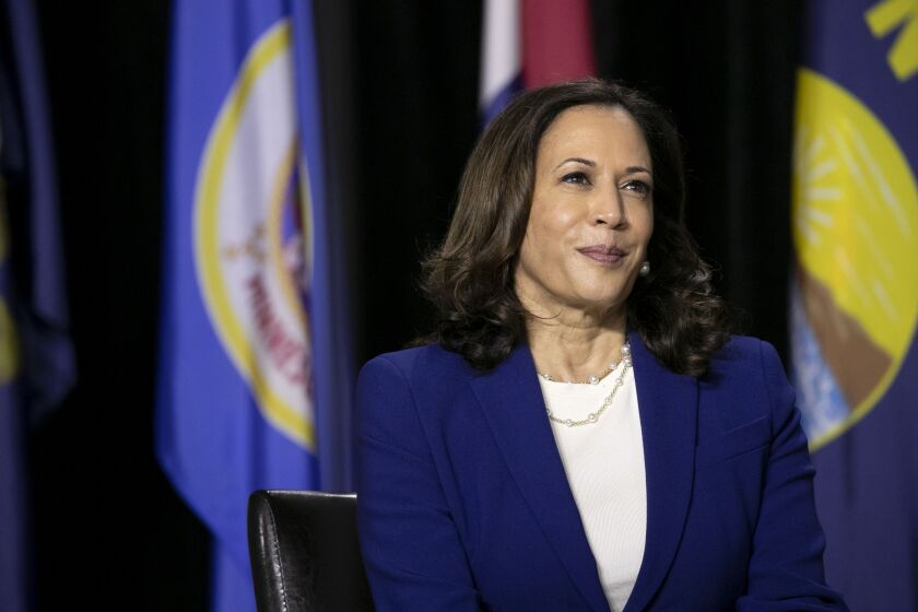 Joe Biden And Kamala Harris Hold First Event As Running Mates