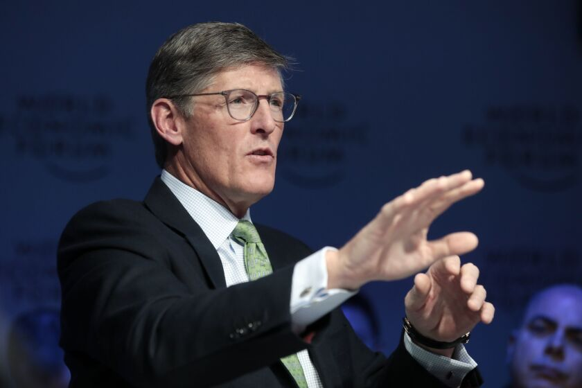 """Citi CEO Michael Corbat said the push to improve the bank's infrastructure and risk controls will be a multiyear effort. """"I believe it is best for the firm for my successor to lead this important work from the beginning,"""" he said."""