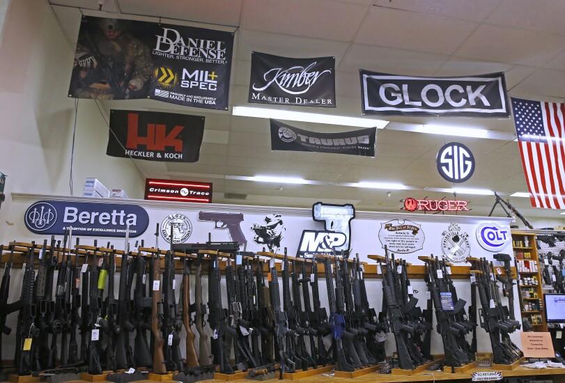 Gun sales, gun shop, assault guns, gun store