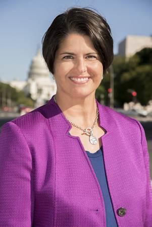 Gigi Hyland, executive director of the National Credit Union Foundation