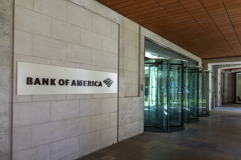 LONDON- Bank of America Securities, previously Merrill Lynch, an American multinational investment bank and financial services company HQ in the City of London