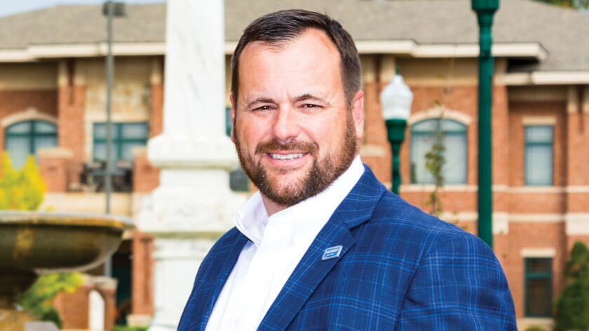 """""""He's an energizing person to be around,"""" a banking industry official says of Spence Mullis, 45, president and CEO of Morris Bank in Dublin, Ga. """"He's exciting, thoughtful and strategic. You can tell he really likes being a community banker."""""""
