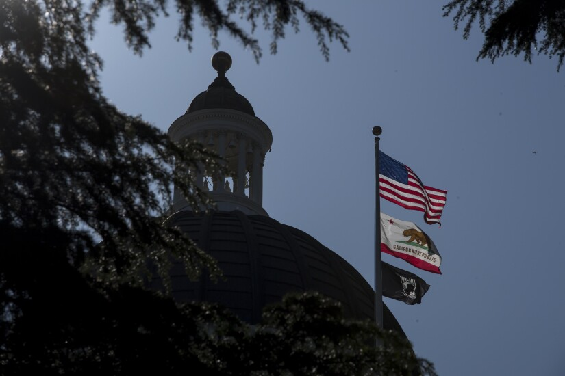 Views Of The State Capitol As Lawmakers Pitch $52.4 Billion Road Plan